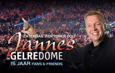 7 Oktober GelreDome Jubileumconcert 15 Jaar Jannes
