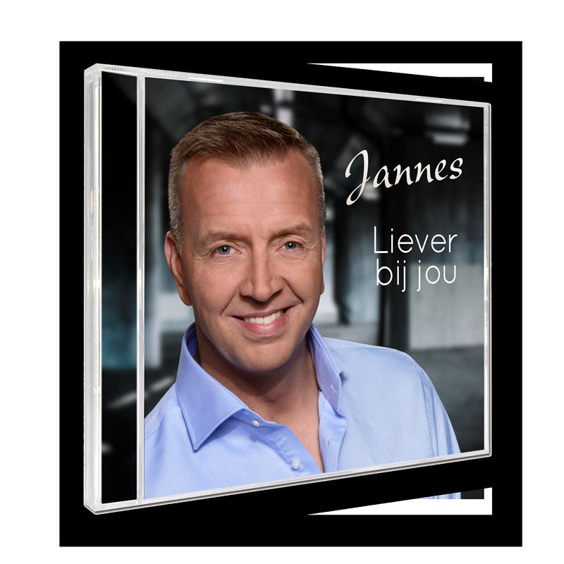 Liever Bij Jou is het nieuwe studio album van Jannes